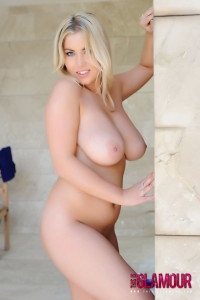 Lyla Ashby strips from her lingerie and blue dress shows off her curvy  body and her 32F Breasts, 189 Images in this Photoset.