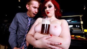 Trying Out the Bar Wench starring Jaye Rose from Baby Got Boobs – BRAZZERS