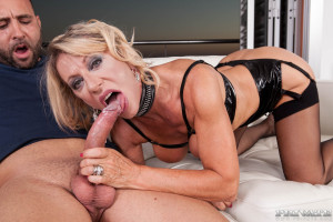 MILF Marina Beaulieu Enjoys Anal While Her Husband Watches