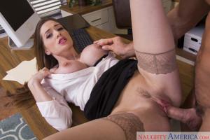 Veronica Vain in Naughty Office – Naughty America