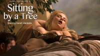 Sarah Vandella Sex Video in Sitting by a Tree