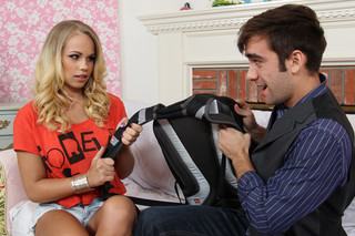 Britney Young & Logan Pierce in I have a Wife - Naughty America