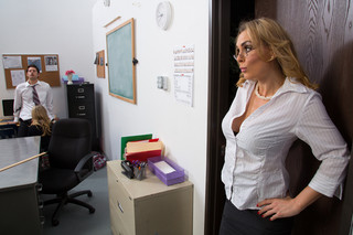 Charlee Monroe, Tanya Tate & Giovanni Francesco in My First Sex Teacher - Naughty America