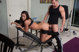Rilynn Rae & Johnny Castle in Naughty Athletics - Naughty America