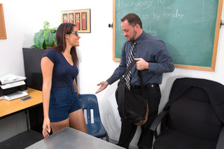 Aria Arial  & Alec Knight in Naughty Bookworms - Naughty America