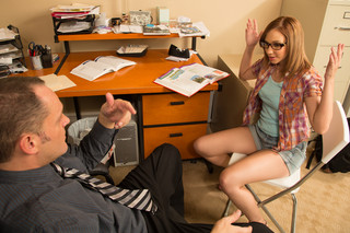 Izzy Taylor & Alec Knight in Naughty Bookworms - Naughty America