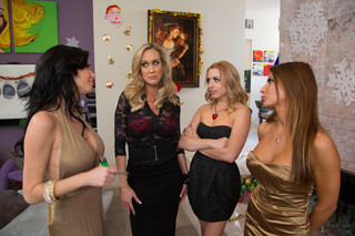 Brandi Love, Lexi Belle, Madison Ivy, Veronica Avluv & Bill Bailey in Naughty Office - Naughty America