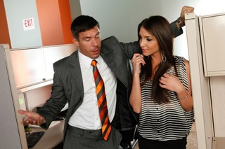 Giselle Leon & Mick Blue in Naughty Office - Naughty America