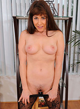 Alexandra Silk  Experienced cougar Alexandra Silk flaunts her big tits and plays with her pussy
