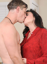 Karen Kougar  Check out Karen Kougar swollen hot pussy as it is seriously pounded by a hot stud