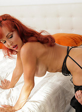Vanessa Bella  Check out this Anilos redhead as she gets banged by her horny husband