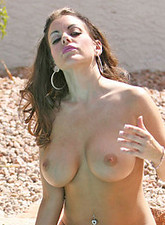 Victoria Valentina  Victoria Valentino catches up on some relaxation time by sunning her gorgeous body in the nude
