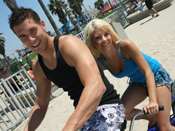 Tessa Taylor - Teen blonde rides dude after getting horny off riding a bike!