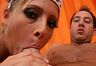 Carmen - Barely legal blonde princess Carmen Kinsley riding your dick and cum drenched