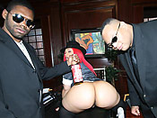 Pinky - Big loaded cocks violating a juicy phat ass