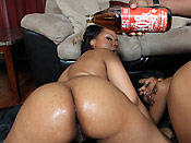 Porche and Aryana - Captain Bangass hits on two bubble jungle butts
