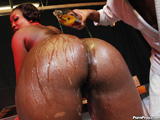 Aryana Starr - Aryana gets fucked and takes a load on her face and 40oz on her ass!