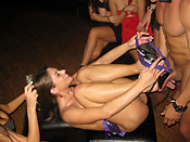 Cathy Heaven - Crazy girls having fun with confused male strippers
