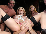 Madison Ivy - Dirty cunt fucked hard and drowned in gallons of cum