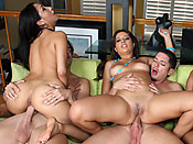 Jynx Maze - Cum-hungry sluts getting fed with male protein