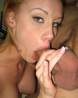 Leah Wilde - Leah loves the taste of cock and swallows it all