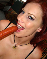 Marsha Lord - Sexy Red Head Marsha has no gag reflex