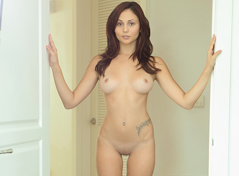 Ariana Marie Porn star with perfect ass and tits gets candle waxed before a stiff fucking