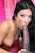 Maya Gates - Maya sucks off huge black cock