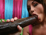 Nikki Anne - Realator hottie takes a massive black cock deep in her pink