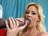 Phyllisha Anne - Phyllisha takes huge cock and loves it