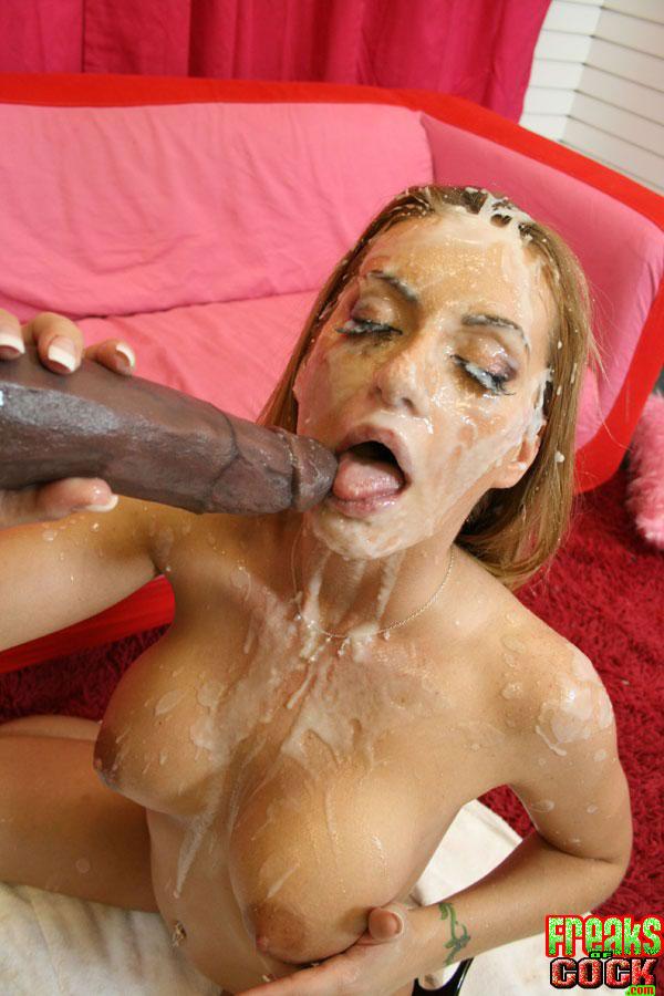 Huge tit slut havana ginger cock riding outdoors with cum swallow