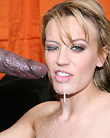 Holly Wellin - Hot Holly takes huge cumshot in face