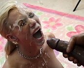 Samantha Sin - Trashy slut Samantha fucks a huge black cock