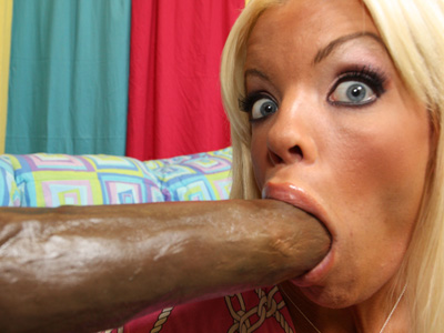 Jordan Blue - Hot bodied Jordan Blue can´t get enough giant cock!