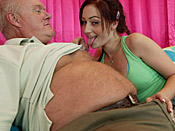 Cameron Love - Check this sick slut out! She fucks and sucks totally old dude