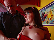 Elli Foxx - Teen whore wants to tease and fuck old man