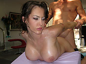 Jenna Presley - Stupid chick getting a massage with a happy ending