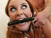 Janet Mason - Sexy red head mother loves being made into filthy cock slut