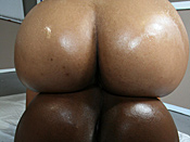 Pepper Foxxx - Young Latina pumps old man cock rock hard and 3 huge black bootys bounce their wets asses on black pole