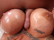 Dejavoo - Dejavoo freaks of boobs covered in huge loads of cum!