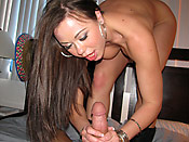 Gioia Biel - Teen freak getting down and dirty on a big cock