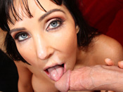 Dianna Prince - Diana Prince the deepthroat queen loves to get throat fucked!