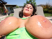 Indianna Jaymes - Big boobed Indianna show off her massive tits!