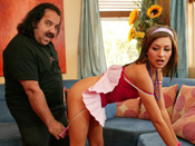 Lexi Diamond - Teen Lexi fuck porn legend Ron Jeremys old man cock!