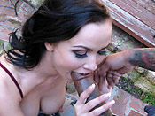 Ally Styles - Dumb brunette torn apart by a massive black cock