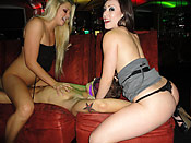 Jessie Andrews - Crazy hens having fun with a stripper