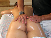 Gracie Glam - Horny slut gets fucked by the dirty masseur