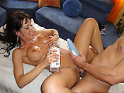 Capri Cavali - Hot babe getting fucked right on the massage table