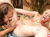 Parker Page - Young one choking on an ancient cock