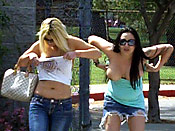 Girls getting violated in public - Girls getting violated in public